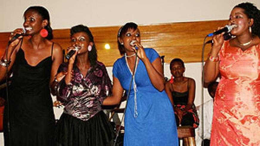 The Sisters thrilled the audience