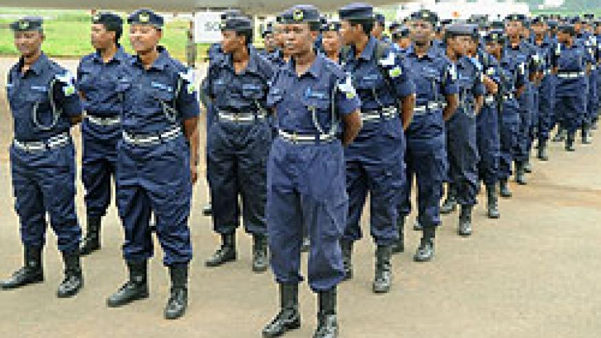 The police has played a key role in fighting GBV (Photo; T. Kisambira)