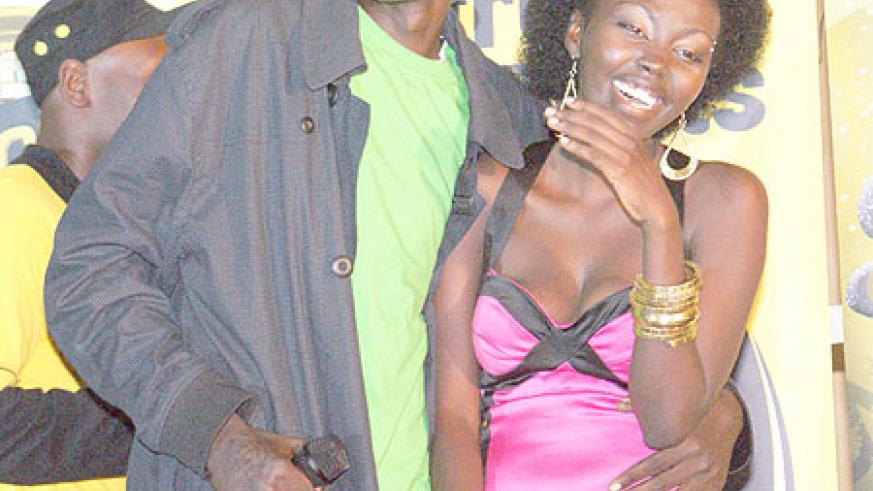 K-Deng and Prudence at the Eviction Party.