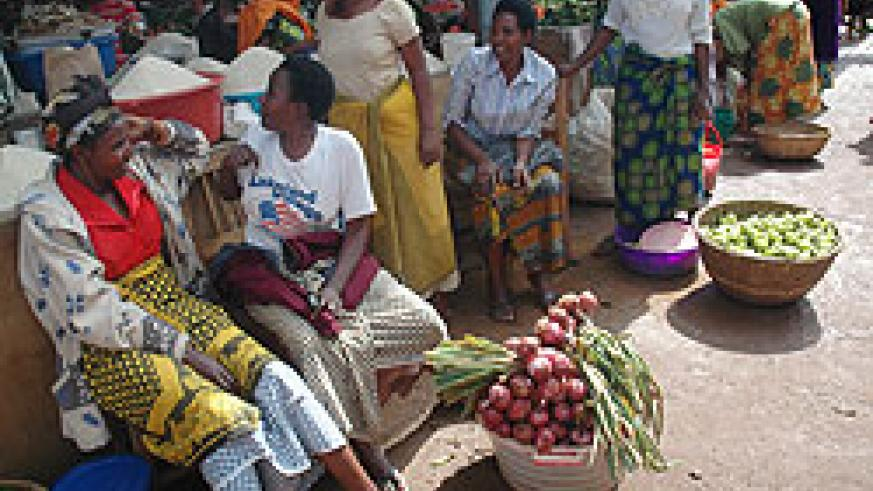 Traders are to benefit from the growth of Rwanda's cooperative capital share (File Photo)