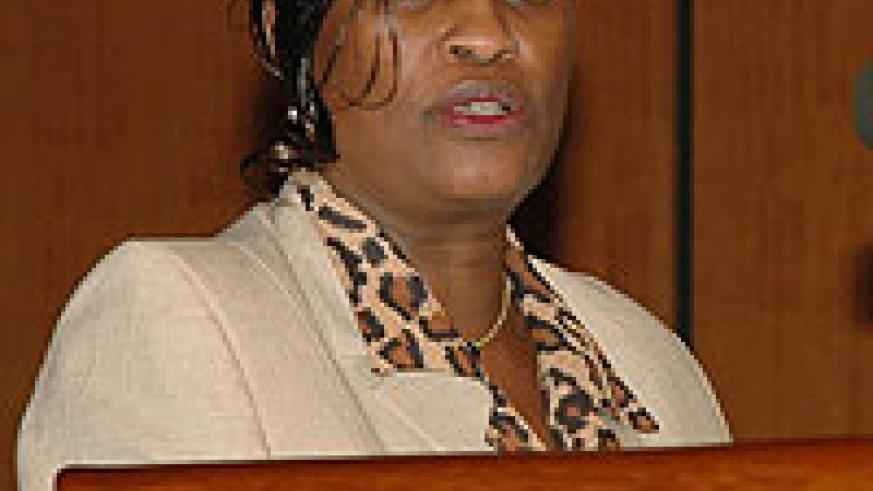 CONCERNED; EAC's Deputy Secretary General, Beatrice Kiraso (File photo)
