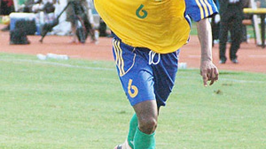 Jean Claude Iranzi will be a key player for Amavubi in Dar-es-Salaam.
