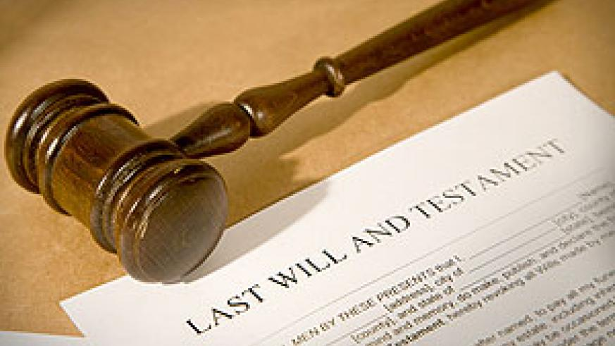 The Last Will and Testament