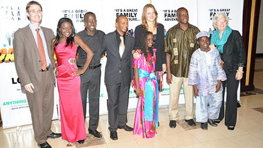Some of the people who attended the movie,''Africa United''(File Photo)