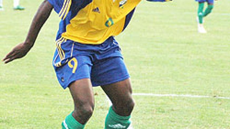 Elias Uzamukunda has earned a call up to the Amavubi team after impressing for AS Cannes. (File photo)