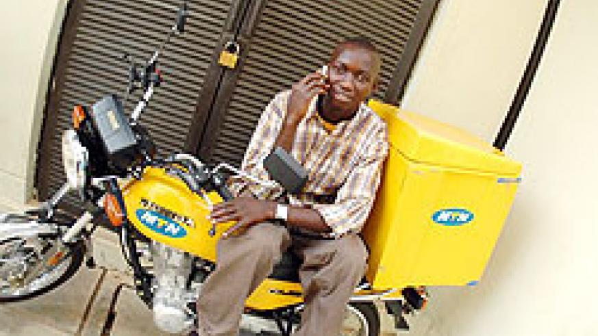 MTN Mobile Money transactions will be able to cross borders after a venture with Western Union (File Photo)