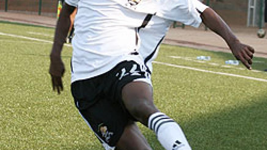 APR winger Jean Claude Iranzi is expected to play against Musanze. (File Photo)