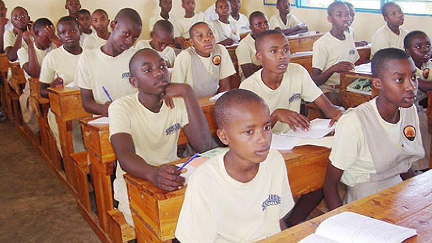 Our children should be encouraged to embrace education when they are still young. (File photo)