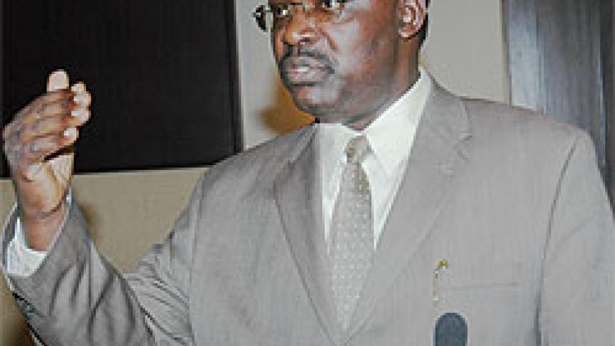 Optimistc, Francois Kanimba, Governor of the National Bank of Rwanda (file photo)