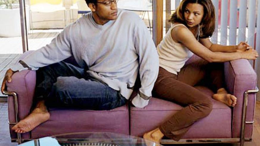 Couple disagree all the time, but the way one handles a situation cools off steam quickly.