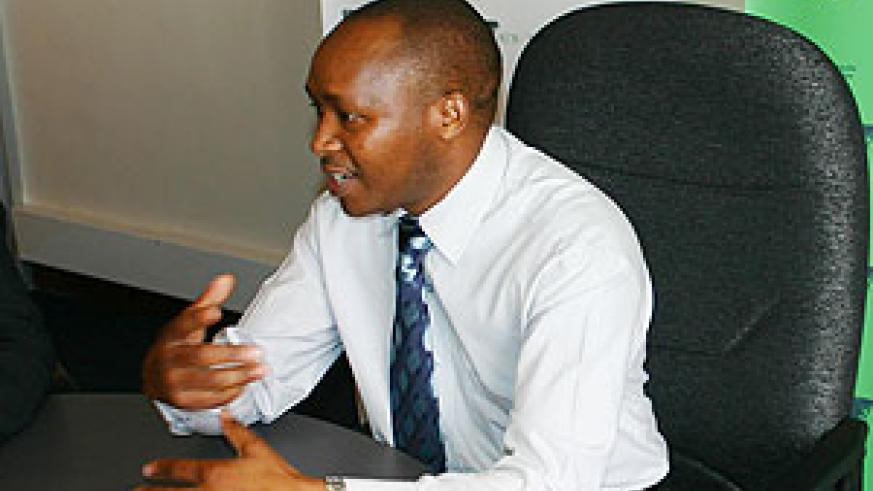 Maurice Toroitich, the Managing Director of KCB