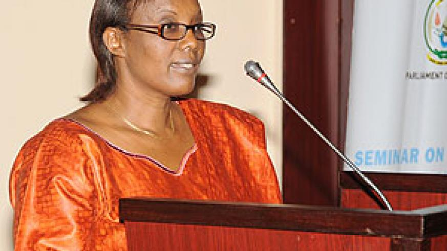 Inspiration:  The Speaker of Parliament; Rose Mukantabana should be an inspiration to us that even women can make great leaders