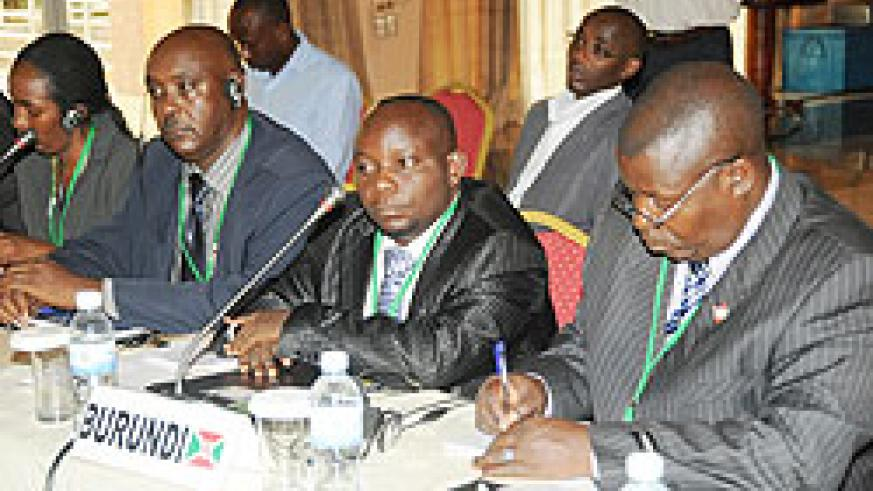 Participants attend the Amani Forum in Kigali recently. (Photo by J.Mbanda)