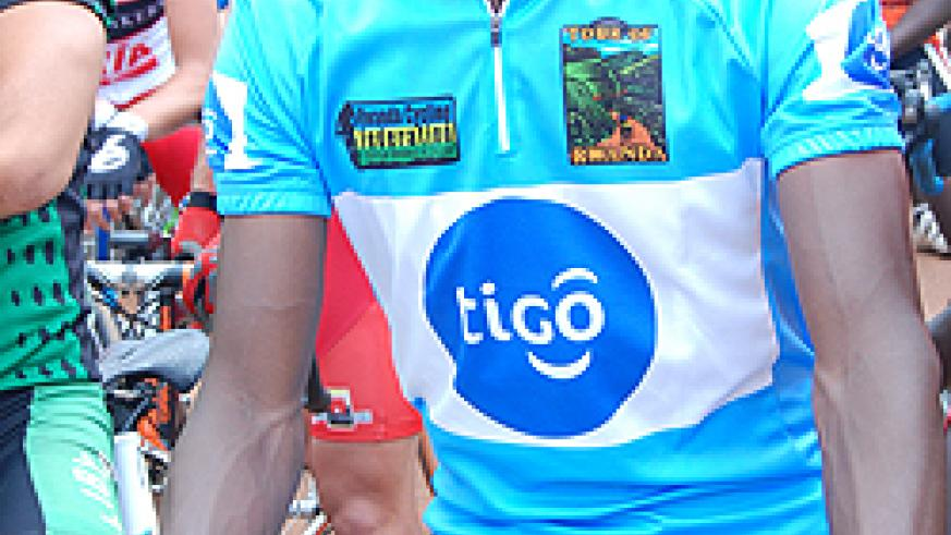 Niyonshuti lost the yellow jersey following yesterday's disappointing 11th spot finish in stage 5. (Photo O. Arinaitwe)