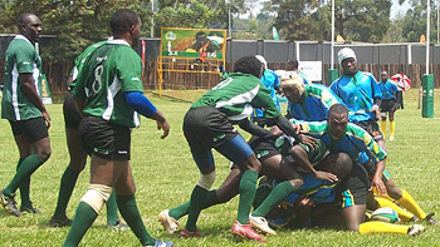 Silverbacks in action during a past regional torunament. (File photo)