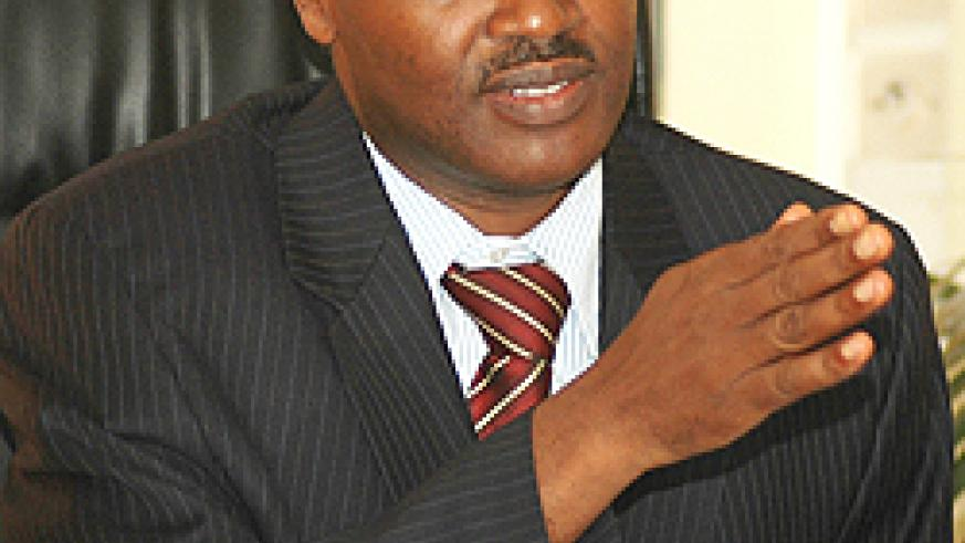 IN CHARGE; Dr. Charles Muligande (File photo)