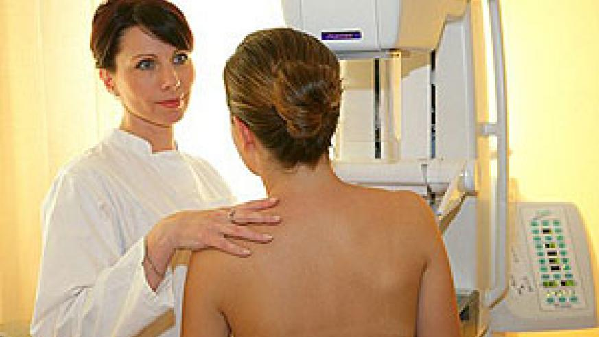 Currently in Britain women can only have breast scans for free from 50