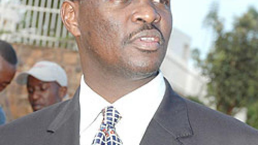 Robert Bayigamba, Chairman Private Sector Federation (File photo)