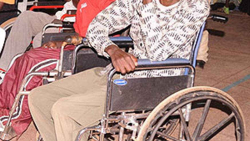 Some of There was a large turn up at the ceremony to park International Day for the disabled. (Photo J Mbanda)