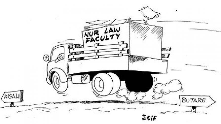 NUR Law Faculty to move to Kigali