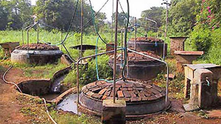 A biogas plant - Governmnent has got a major boost for renewable energy (File Photo)