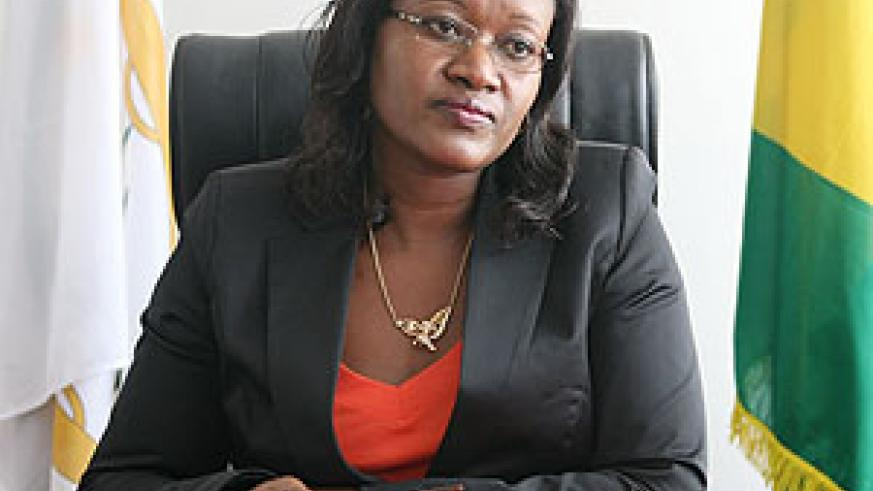 Minister for EAC Monique Mukaruliza (File Photo)