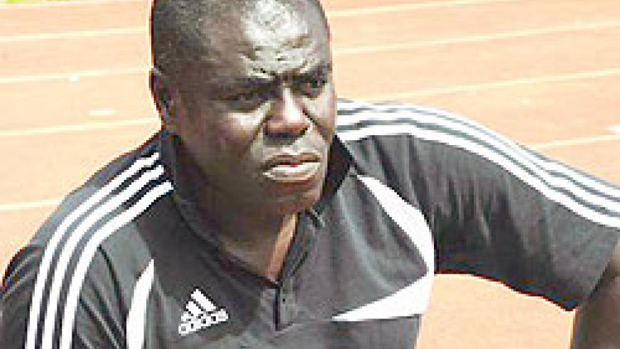 Amavubi head coach Sellas Tetteh is trying to build a new side. (Net photo)