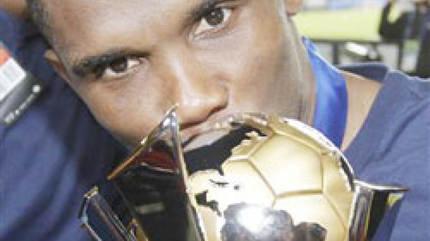Eto'o hit the heights with Inter in 2010