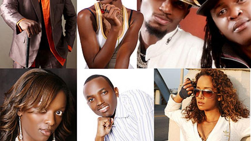 General Ozzy ; Rachael K ; Miss JOJO ; Tom Close ; Ms Triniti ; Radio and Weasel