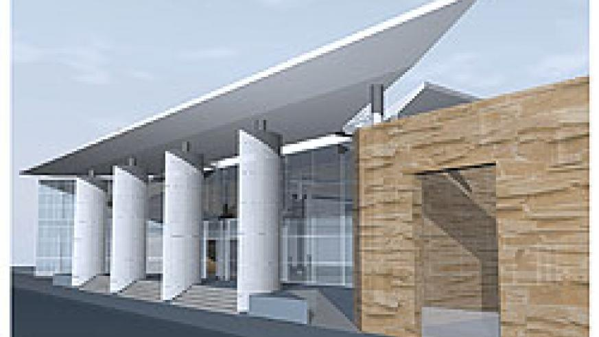 An artistic impression of the Kigali Public Library. The facility will be opened in March next year.