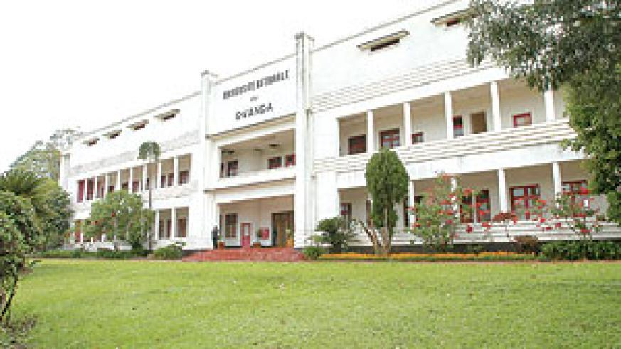 The main building of the Huye-based NUR. The varsity has recorded poor perfomance of medical students (File Photo)