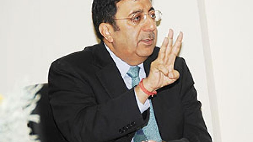 Sanjeev Anand, the Chief Executive Officer