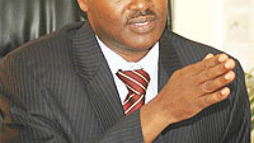 IN CHARGE: Dr. Charles Murigande, Minister of Education  (File photo)
