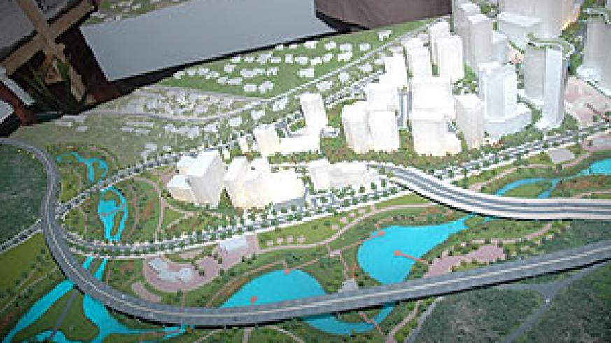 The artistic impression of Kigali Master Plan. Muhima residents feared renovating their houses after the area fell within CBD (File Photo)