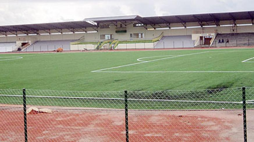 Rubavu stadium ready to host Group B matches of the 2011 U-17 Africa Nations tournament.