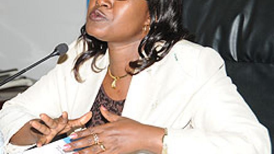 Minister for EAC Monique Mukaruliza