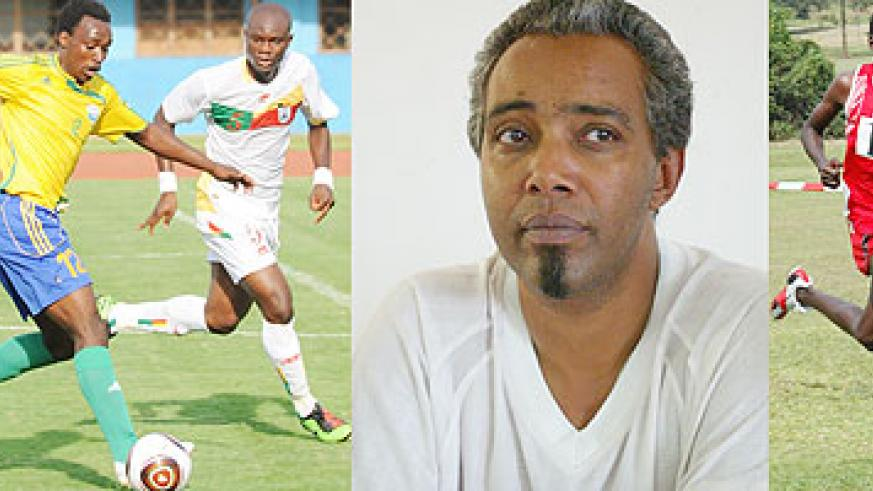 L-R : APR striker Kipson Atuhaire was drafted into Amavubi but goals have still proving hard to come about ; Albert Rudatsimburwa ; Dieudonne Disi had a very disappointing 2010.