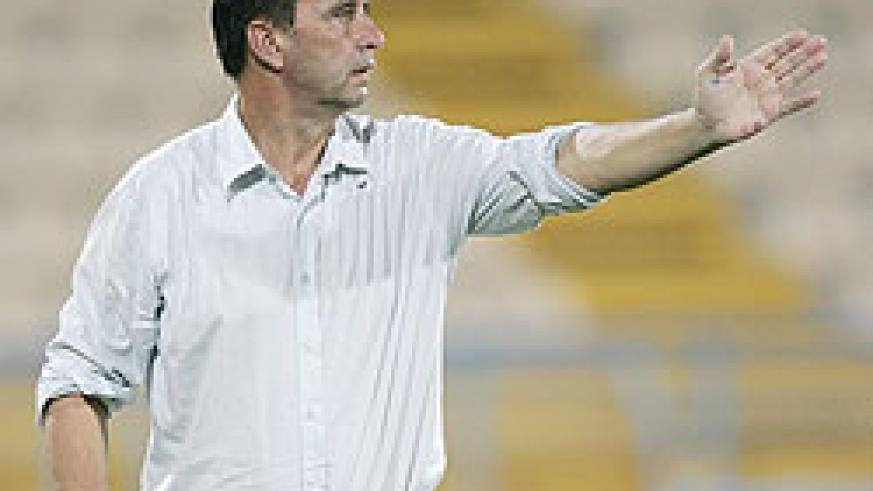 Former St. Etienne coach Richard Tardy admits his team need a good result in the opening game against Burkina Faso. (File photo)