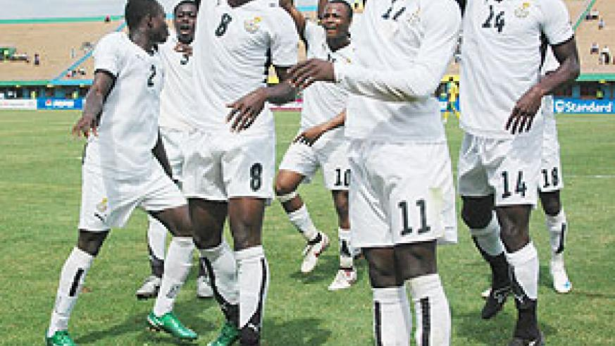 The next generation of Ghana players wants to emulate their 2009 double-winning colleagues. (File photo)