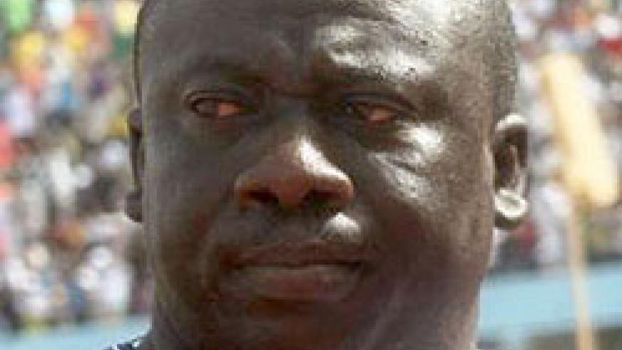 Gambia football association president Seedy Kinteh was not a happy man after yesterday's disappointing performance