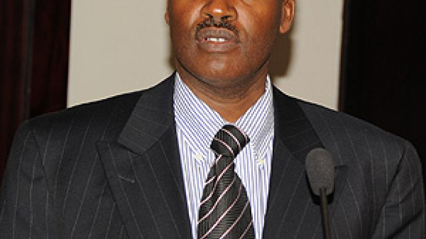 Education Minister Dr Charles Murigande