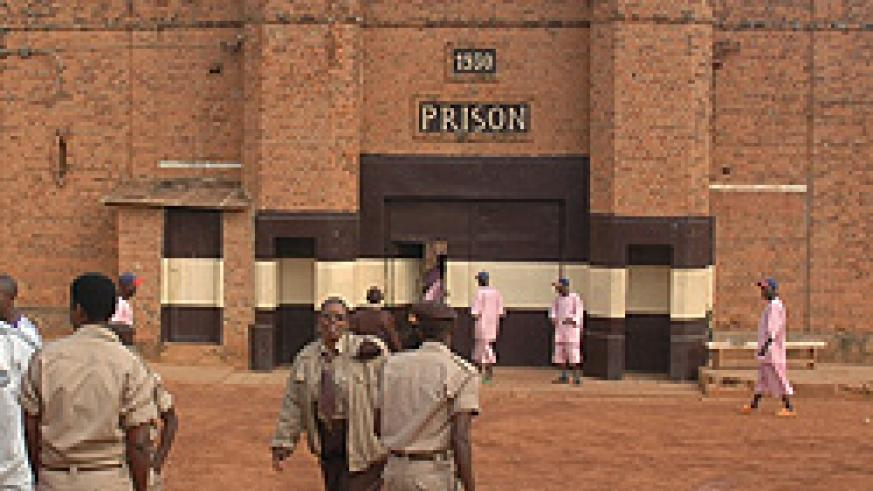The front view of Kigali Central Prison, '1930'. Plans have been finalised for it to be moved to Butamwa