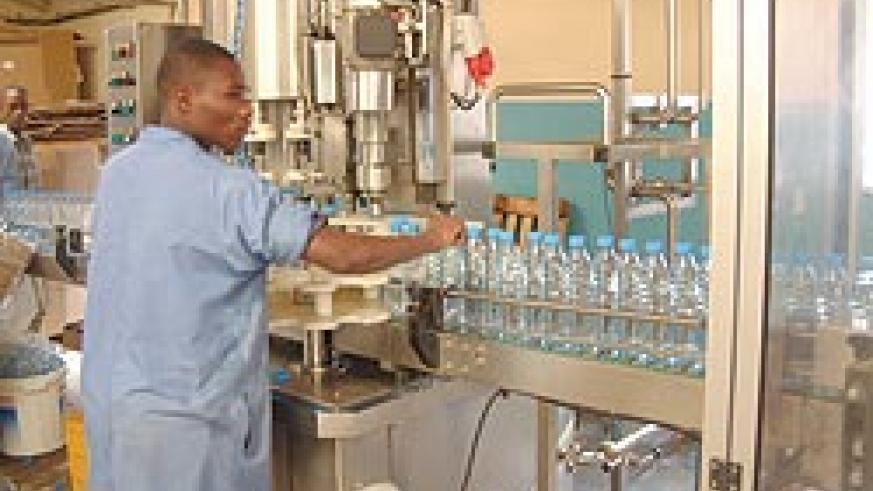 Inyange's old plant at Gikondo, the company has increased factory prices to cope with the increasing costs of raw materials on the international market (File photo)