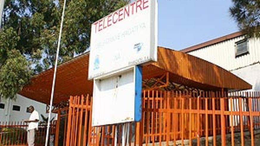 One of the Tele-centre in Kigali