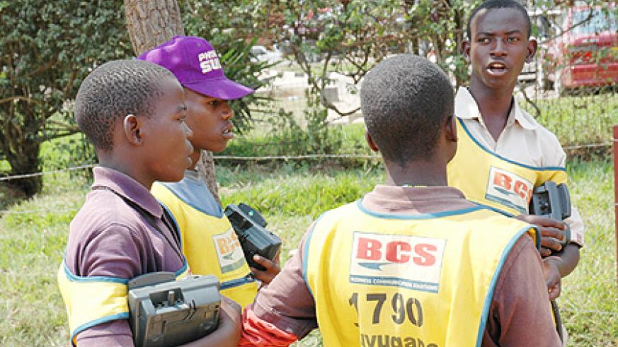 Selling airtime on the streets comes with a fair share of challenges. (File photo)