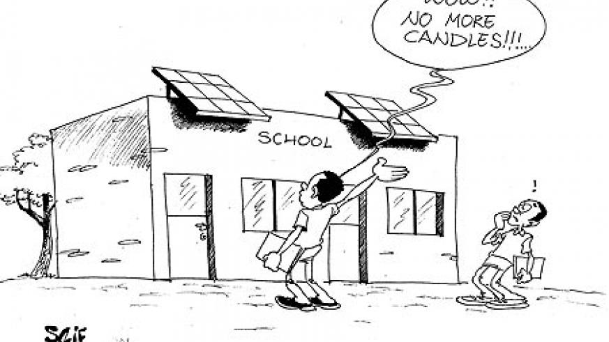 In its rural electrification campaign, the government will next week launch a project to connect 300 remote schools to solar energy.