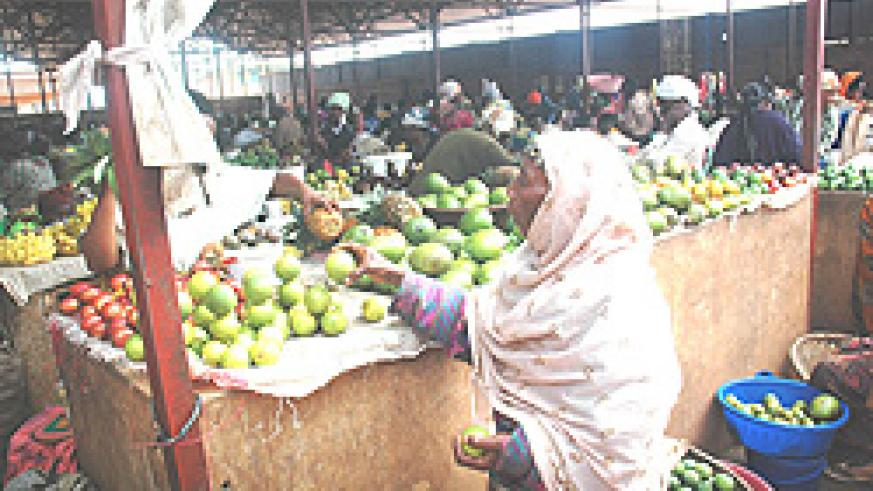 Food prices have eased due to the good performance in the agriculture sector (File photo)