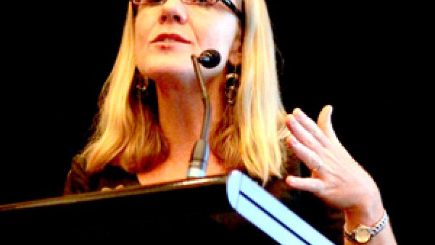 Dr Joy Lawn commended Rwanda's efforts in fighting child mortality (Net Photo)