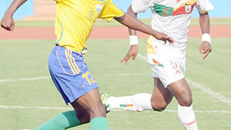 Kipson in action during last year's Cecafa Senior Challenge Cup. (File Photo)