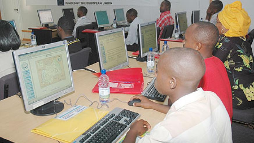 Internet costs are expected to drop as competetion in the data segment intensfies. (File photo)